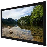 China 3D Perforated Silver acoustically transparent projection screen For Home Cinema on sale