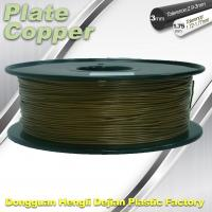 China 1.75 Mm 3D Printer Metal Filament Aluminum Copper Bronze Red Copper Brass on sale