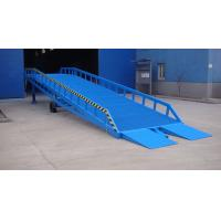 Buy cheap Blue Giant Hydraulic Dock Levelers Adjustable Loading Dock Ramp DCQY20-0.5 product