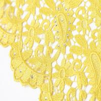 """Buy cheap F50264 customizable 51-52"""" polyester dress making guipure embroidered lace fabric for sale product"""