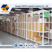 Multi Tier Light Duty Shelving Household , Electrostatic Powder Coating Bolted Steel Shelving