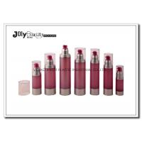 Buy cheap Cylindrical Cosmetic Airless Pump Bottles For Personal Care Packaging product