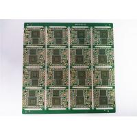 Buy cheap HDI FR4 Green Soldermask Printed Circuit Board with Immersion Gold product
