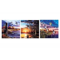 Buy cheap Nature & Landscape Mounted Art Print 3d Lenticular Image For Decoration 120x40cm product