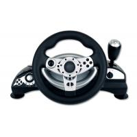 Buy cheap Dual Vibration Wired Large PC Game Racing Wheel With Adjustable Sensitivity product
