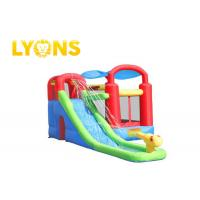 Buy cheap Safety Children Inflatable Bounce House With Slide , 3 Years Warranty product