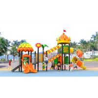 Buy cheap AluminumAlloy Pole Childrens Plastic Playground Equipment For Toddlers product
