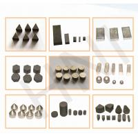 Buy cheap Thermal Stability TSP Diamond Triangle Cube Cylinder High Wear Resistance Jewelry Processing product