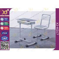 Buy cheap Plywood Steel Tube Single Learning Desk And Chair For Student 5 Years Warranty from wholesalers