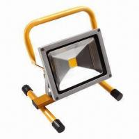 Buy cheap 30W Floodlight with Portable Handle, 90lm/W High Bright LED, More than 30,000 Hours Lifespan product