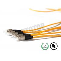 Buy cheap 5m Simplex Fiber Optic Patch Cord Pvc Jacket Low Excess Loss , Corning G657A product