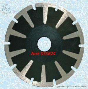 Buy cheap Continuous Rim Diamond Concave Saw Blades - DSSB24 product