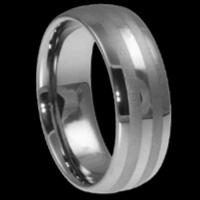 China Tungsten wedding rings for men 4-12mm on sale