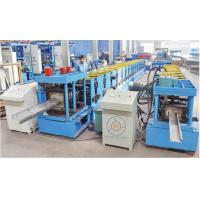 Buy cheap High Speed 80-300mm Width Adjustable CZ Purlin Roll Forming Machine High Speed Fully Automatic product