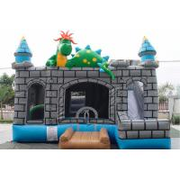 Buy cheap Colorful Inflatable Bouncer Combo With Slide For Garden Commercial Events product