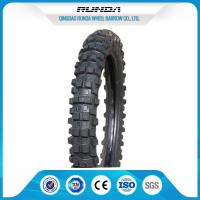 Buy cheap TL / TT Motor Cycle Tires 8PR , Motorcycle Street Tires 35%-55% Rubber 7-10MPA product