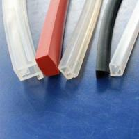 Buy cheap Extruded Silicone Rubber Profiles product