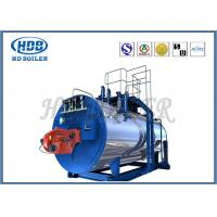 Buy cheap High Thermal Efficiency Steam Hot Water Boiler Generators With Oil / Gas Fired product