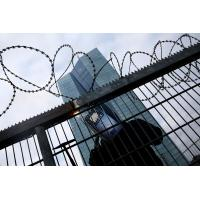 Buy cheap Concertina Barbed Wire , Razor Barbed Tape Concertina Powder Coating Surface from wholesalers