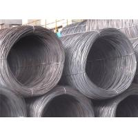 SAE1006 Steel Wire Rod , SAE1008 10mm Steel Wire for Cold Drawing ...