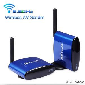 5.8GHz Anti-interference Wireless AV / Audio Video Transmitter Receiver for  CCTV Camera Analog Signal Transmit