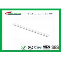 Buy cheap White Solder Mask Alumnum PCB,1.6MM PCB  550X25MM LED Light PCB Board product