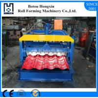 Buy cheap Hydraulic Pump Corrugated Roof Sheeting Machine 0.3 - 0.8mm Panel Thickness product