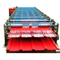 Buy cheap Double Layer Wall Panel Roll Forming Machine Automatic High Speed have PLC control product