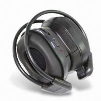 China In-car Infrared Wireless Headphone in Foldable Design with Dual Channels on sale