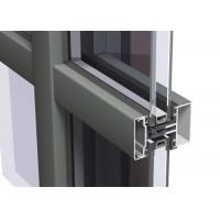 Buy cheap Easy Cleaning Curtain Wall Aluminium Profiles , Unitised Curtain Wall GB Certified product