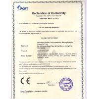 Shandong China Coal Industrial & Mining Supplies Group Co., Ltd. Certifications