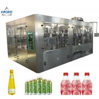 Buy cheap 6 Capping Head Carbonated Soda Filling Machine / Carbonated Drink Bottling Machine product