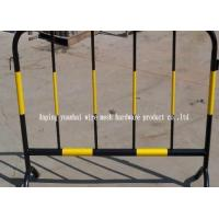 Buy cheap Soft Steel Tube Powder Coated Secure Temporary Fencing , Steel Security Fence Portable product