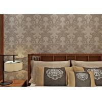 Buy cheap Washable Victorian Style Wallpaper For Living Room , Contemporary Damask Wallpaper Mould Proof product