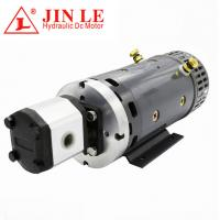 Buy cheap ZD2371 24V Hydraulic DC Motor , 4KW DC Motor CW Rotation With Gear Pump product