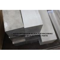 China ASTM B90/B90M-07 Hot rolled magnesium alloy plate AZ31B-O sheet AZ31B-H24 plate block on sale