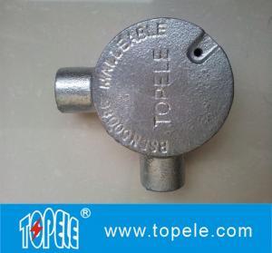 Buy cheap GI BS4568 Conduit Fitting 20mm 25mm 32mm 90 Angle Way Circular Junction Box product