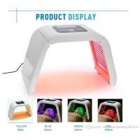 Quality Red Blue Green Yellow 4 Light LED Facial Mask PDT Light For Skin Therapy Beauty for sale