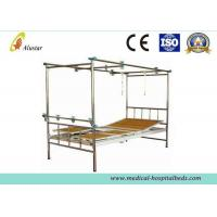 Buy cheap Stainless Steel 3 Crank Double Arm Manual Hospital Orthopedic Adjustable Beds (ALS-TB02) product
