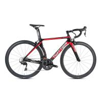 China Lightweight Carbon Fiber Road Bike 22 Speed No Electric Hard Wearing on sale