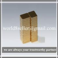 Buy cheap 5X4X1 NdFeB Block Magnet product