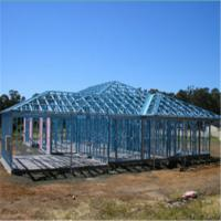 Buy cheap Light Steel Villa with Galvanized Steel Structures Light steel villa product