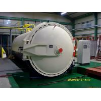 Buy cheap Brick Wood Rubber Glass Laminating Autoclave , Φ3m AAC Block Plant product