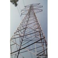 Buy cheap Low Voltage Transmission Line  Towers High Tension Towers 20M ~ 50M product