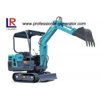 Buy cheap Compact Heavy Construction Machinery , Rubber Small Crawler Excavator product