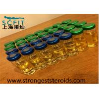 China 100Mg / Ml Test Prop Pain Free Mixed Injecting Steroids Test P Yellow Liquid wholesale