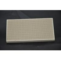 Buy cheap Infrared Honeycomb Ceramic Burner Plate Thermal Shock Resistance For Pizza Ovens product