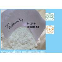 Quality Tetracaine Local Anesthetic Agents powder Tetracaine for Pain Relief , CAS 94-24-6 for sale