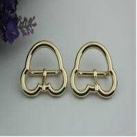 Buy cheap Luggage hardware accessories Mickey Mouse shape 25 mm gold zinc alloy pin buckle for leather accessories product