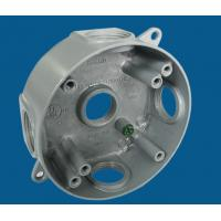 """Buy cheap 4"""" Round Waterproof Electrical Box With 5 Outlet Holes Aluminum Die Cast MATERIAL product"""